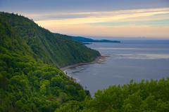 Somewhere Gaspe Peninsula Quebec (Golden_Arrow) Tags: cove anse spectacular view gaspe peninsula north coast