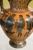 IMG_9950 (jaglazier) Tags: 2016 520bc 6thcenturybc 72316 achilles adults amphora animals antimenes antimenespainter ariadne athens attic bearded beards boys campania centaurs ceramics children chiron clay copyright2016jamesaglazier crafts crowns dionysos drawing grecoroman greece greek greekkey hermes horns italy july legends lotusflowers mammals men museoarcheologiconazionale museoarcheologiconazionaledinapoli mythical myths naples napoli national nationalarchaeologicalmuseum nazionale painting peleus pottery religion rituals satyrs vases women archaeology art blackfigure dogs drinkinghorns earthenware gods hares lotusbuds meandd meander palmettes wolfstooth wreaths