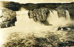 [IDAHO-B-0173] Snake River - Twin Falls (waterarchives) Tags: idaho river realphotopostcardrppc snakeriver twinfalls falls
