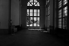 Windows (lanevegianluca) Tags: people blackandwhite torino none biancoenero reggia 50ml venaria captureone reggiadivenaria sonya6000