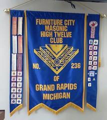 Grand Rapids, Michigan - Masonic Centre (Hear and Their) Tags: masonic centre center grand rapids michigan fulton street high twelve club