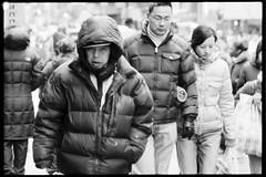 one day in chinatown (-{ ThusOriginal }-) Tags: 135 bw blackandwhite blur city f3hp film fujineopan1600 monochrome nyc skicoat street thusihaveseen winter thusoriginal newyork scan
