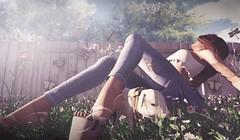 I Got You Babe (lndya and Leeaker) Tags: fence heels jeans