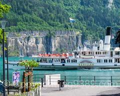 Paddle Steamer Schiller on Lake Lucerne, Brunnen, Central Switzerland (jag9889) Tags: 2016 20160721 alpine boat brunnen ch cantonschwyz centralswitzerland europe helvetia innerschweiz lake lakelucerne mountain outdoor paddlesteamer schweiz schwyz ship suisse suiza suizra svizzera swiss switzerland transportation vessel vierwaldstttersee zentralschweiz jag9889 brunnensz