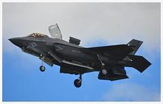 Lockheed F-35B Lightning II USMC 168726: VM-18 (Ciaranchef's photography.) Tags: f35b lightningii f53lightning lockheed farnborough2016 farnboroughairshow airshow airdisplay usmarinecorps flyingdisplay flying militaryjets militaryaviation nikonaviation nikon18300mmf3556gedvr nikond7000