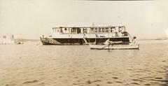 The Halcyone Houseboat, September 1928. (trashingdays) Tags: houseboat poole dorset sandbanks rumsey