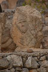DSC_0893 (Sciabby) Tags: sicily sicilia sciacca filippobentivegna facce faces stone pietra castelloincantato artbrut