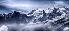 Passion Montagne......... (Malain17) Tags: panorama montagnes hautesavoie montblanc chamonix aiguilledumidi sky clouds image capture photography photographers pentax france altitude hautemontagne wow