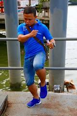 Aspiring Muay Thai Fighter (thechrisdavis) Tags: canon eos 5d 5dmk3 thailand honeymoon bangkok muaythai fighter