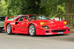 Ferrari F40 (Nick Collins Photography, Thanks for 2 million vie) Tags: ferrari f40 car automobile driving icons by lake ascot virginia water canon 50mm
