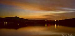_DSC9645 (Maurizio Cavallino) Tags: sunset lake reflexes water