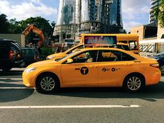NYC or Brisbane? (stephenk1977) Tags: australia queensland qld brisbane newyork city nyc film set thor ragnarok chrishemsworth tomhiddleston iphone6 cbd vsco c3 preset filming
