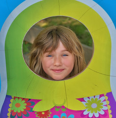 Flower Girl (jta1950) Tags: kid kids child children enfant girl fille littlegirl portrait cute younggirl nikon granbyzoo