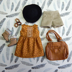 OOTD#1 - Pansy (Levitation_inc.) Tags: poppy parker fashion doll dolls ooak clothes handmade levitation ootd outfit