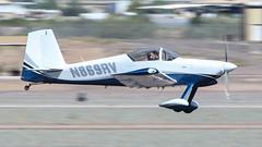 Van's RV-9 N869RV (ChrisK48) Tags: 2005 cn90869 kdvt n869rv vansrv9 phoenixaz rv9 phoenixdeervalleyairport aircraft airplane dvt homebuilt experimental