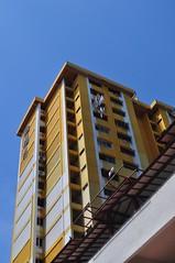 Goodbye Rocher 09 (fionatkinson) Tags: singapore asia rocher hdb flats urban demolishon old colour architecture landscape