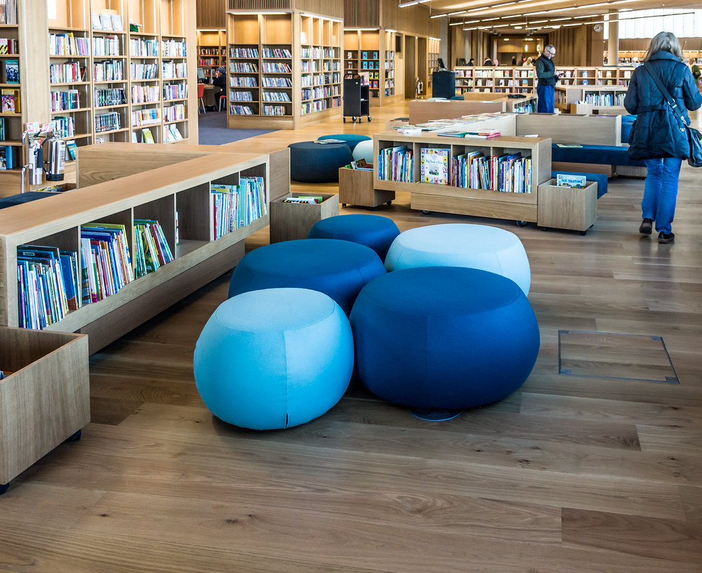New Public Library In Dun Laoghaire, Officially Called DLR Lexicon Opened To The Public Today And It Is Worth Visiting Ref-100533
