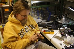 "Don repairs a cable • <a style=""font-size:0.8em;"" href=""http://www.flickr.com/photos/27717602@N03/15715860847/"" target=""_blank"">View on Flickr</a>"