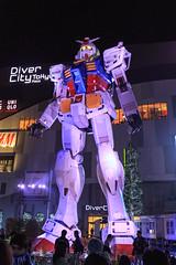 Gundam  () Tags: anime japan tokyo  daiba gundam