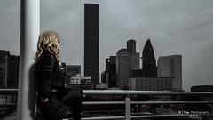Black Canary (Arrow series) (btsephoto) Tags: portrait black building skyline comics lens 1 dc costume tv downtown texas fuji play cosplay f14 iii flash houston x warehouse r pro series fujifilm arrow canary fujinon コスプレ xf uhd 23mm xpro1 yongnuo yn560