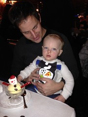 """Paul Gets Snowman Ice Cream at the Walnut Room • <a style=""""font-size:0.8em;"""" href=""""http://www.flickr.com/photos/109120354@N07/15909120967/"""" target=""""_blank"""">View on Flickr</a>"""