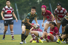 Hong Kong Rugby Domestic League 2014-15 (By Panda Man) Tags: cup hongkong football team asia university play rugby stadium soccer pitch players kingspark league skm tpd 2014 skp kln hv8 hkfc womensleague hkrfu w10s taipodragons abacuskowloon wprem tswpandas