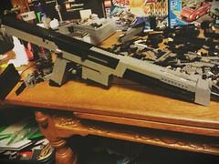 XM8 WIP (That Builder) Tags: 2 3 black gun lego rifle wide working wip help bolt ops assualt xm8 m8a1 blackops2 blops2