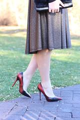 Metallic Bronze Holiday Skirt   #LivingAfterMidnite (jackiegiardina) Tags: winter holiday fashion bronze outfit metallic style skirt midi livingaftermidnight livingaftermidnite jackiegiardina