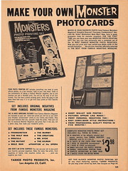 Famous Monsters Photo Printing Set Ad (Donald Deveau) Tags: yankee famousmonsters photoprintingset
