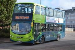 Arriva North West 4510 MX13AEM (Will Swain) Tags: uk travel england west bus buses britain north transport 21st birkenhead february mersey merseyside arriva 2015 4510 mx13aem
