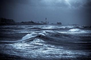 alone in the rough sea - Explored 21.12.14