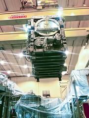 Neutral beam box lift at NTSXU (PPPLab) Tags: energy lift research fusion upgrade nstxu neutralbeambox