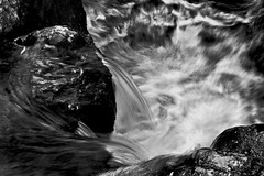 Flow (clmenceLiu ) Tags: water flow blackwhite waterfall chefchaoun nikond800 clemenceliu