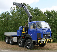THW Saurer (The Rubberbandman) Tags: white truck germany austria construction crane 10 relief civil german disaster technical vehicle heavy dm thw defence austrian hoya disasterrelief 10dm heavyvehicle civildefence saurer germanyaustria