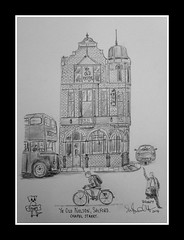 ye old nelson by broady 2014. (Broady - Salford art and photography) Tags: art beer illustration pencil manchester sketch artwork pub inn drawing picture ale salford chapelstreet broady broadhurst yeoldnelson