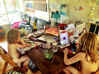 @PlayOsmo and Art Journalling videos - beating the heat.