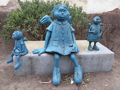 The blue angels of Praga (stillunusual) Tags: street travel urban streetart art artwork streetphotography poland polska praga urbanart warsaw publicart warszawa blueangel 2014 travelphotography travelphoto travelphotograph warsawstreetart mareksuek