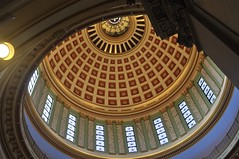 Oklahoma State Capitol dome (Pejasar) Tags: oklahoma ceiling done statecapitol