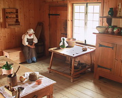 Louisbourg Forteress (msg_moi) Tags: wood kitchen novascotia colonisation servante foteresse 18iem