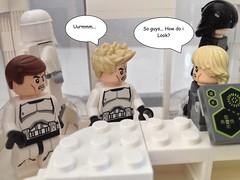 Stormtrooper shopping (okoe74) Tags: starwars uniform lego tie boutique empire stormtrooper pilot clonetrooper