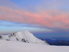 Mt Blanc sunrise Photo