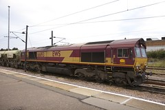 Class 66 66193 at Peterborough