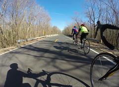 Saturday Club Ride (The Goat Whisperer) Tags: winter bike bicycle ride alabama pinarello gopro rokh