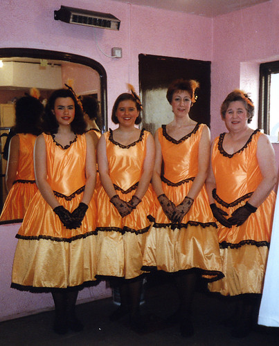 1993 Goldilocks and the Three Bears 02 (from left Kathy Allan, Katie (Ivermee) Bullock, Linda Ellis, Rita Hampton)