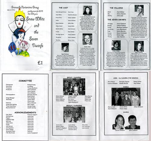 2013 Snow White 00 Programme