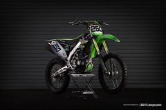 KAWASAKI 450 kxf (Leborgne PhotoMX) Tags: light photography photoshoot cc moto motocross 450 supercross kawasaki kxf strobist