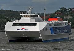 Stena Carisma (maritime.fotos) Tags: gteborg gothenburg catamaran frederikshavn stenaline hss katamaran stenacarisma highspeedcatamaran laidup frederikshavngteborg