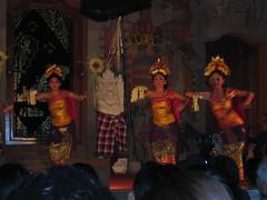 Balinese Hindu Dancers