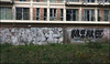 Hobo / 10FT / Mine (lewis wilson) Tags: city urban canon graffiti mine paint boobs urbanart kingston damage graff hobo southlondon iphone damge 10ft 10foot iphoneography ldngraffiti