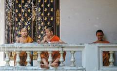 Bangkok , Thailand / young students (travelben) Tags: street thailand student asia bangkok boudhism